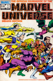 Official handbook of the Marvel Universe Vol.2 - Deluxe Edition (1985) -1- Abomination To Batroc's Brigade
