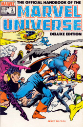 Official handbook of the Marvel Universe Vol.2 - Deluxe Edition (1985) -2- Beast To Clea