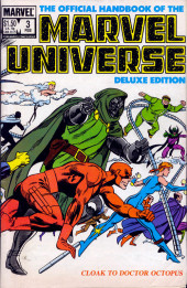 Official handbook of the Marvel Universe Vol.2 - Deluxe Edition (1985) -3- Cloak To Doctor Octopus