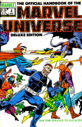 Official handbook of the Marvel Universe Vol.2 - Deluxe Edition (1985) -4- Doctor Strange to Galactus