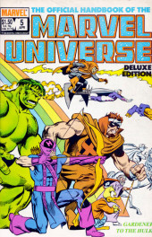 Official handbook of the Marvel Universe Vol.2 - Deluxe Edition (1985) -5- Gardener To The Hulk