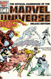 Official handbook of the Marvel Universe Vol.2 - Deluxe Edition (1985) -6- Human Torch To Ka-Zar