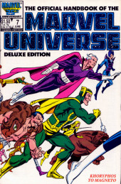 Official handbook of the Marvel Universe Vol.2 - Deluxe Edition (1985) -7- Khoryphos to Magneto