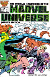 Official handbook of the Marvel Universe Vol.2 - Deluxe Edition (1985) -8- Magus To Mole Man