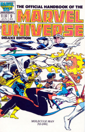 Official handbook of the Marvel Universe Vol.2 - Deluxe Edition (1985) -9- Molecule Man to Owl