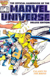 Official handbook of the Marvel Universe Vol.2 - Deluxe Edition (1985) -10- Paladin To Rhino
