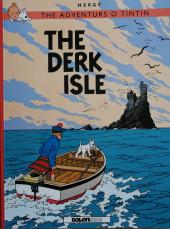 Tintin (en langues régionales) -7Scots- The derk isle