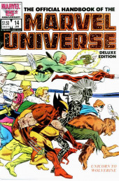 Official handbook of the Marvel Universe Vol.2 - Deluxe Edition (1985) -14- Unicorn To Wolverine