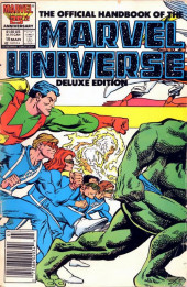 Official handbook of the Marvel Universe Vol.2 - Deluxe Edition (1985) -15- Wonder Man to Zzzax - Alien Races