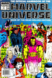 Official handbook of the Marvel Universe Vol.2 - Deluxe Edition (1985) -17- Book of the Dead Part 2