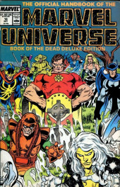 Official handbook of the Marvel Universe Vol.2 - Deluxe Edition (1985) -18- Book of the Dead Part 3
