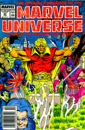 Official handbook of the Marvel Universe Vol.2 - Deluxe Edition (1985) -20- Book of the Dead Part 5