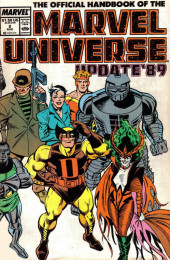 Official Handbook of the Marvel Universe Vol.3 - Update'89 (1989) -2- Champion Of The Universe To Ecstasy