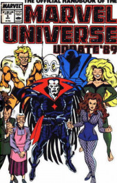 Official Handbook of the Marvel Universe Vol.3 - Update'89 (1989)