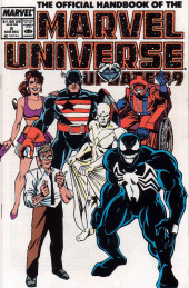 Official Handbook of the Marvel Universe Vol.3 - Update'89 (1989) -8- U-Man To Madelyne Pryor