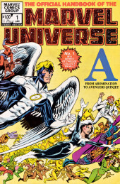 Official handbook of the Marvel Universe Vol.1 (1983) -1- A: From Abomination to Avengers Quinjet