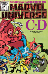 Official handbook of the Marvel Universe Vol.1 (1983) -3- C-D: From The Collector to Dracula