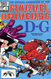 Official handbook of the Marvel Universe Vol.1 (1983) -4- D-G: From Dragon Man to Gypsy Moth