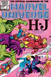 Official handbook of the Marvel Universe Vol.1 (1983) -5- H-J: From Hangman To Juggernaut