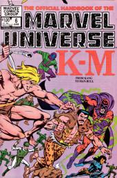 Official handbook of the Marvel Universe Vol.1 (1983)