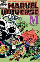 Official handbook of the Marvel Universe Vol.1 (1983) -7- M: From Mandarin To Mystique