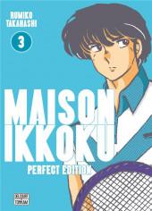 Maison Ikkoku (Perfect Edition) -3- Tome 3