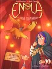 Enola & les animaux extraordinaires -6- Le griffon qui avait une araignée au plafond