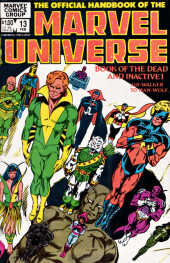 Official handbook of the Marvel Universe Vol.1 (1983)