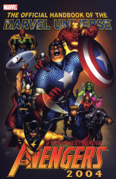 Official Handbook of the Marvel Universe Vol.4 (Marvel comics - 2004) -3- Avengers 2004