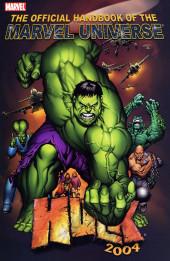 Official Handbook of the Marvel Universe Vol.4 (Marvel comics - 2004) -4- Hulk 2004