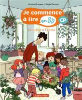 Je commence à lire en BD : CP -5- Un bébé à l'école