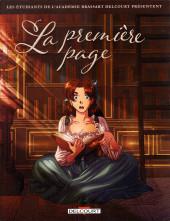 Les Étudiants de l'académie Brassart Delcourt présentent -3- La Première Page