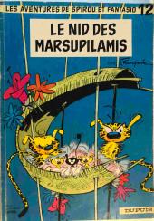 Spirou et Fantasio -12Total- Le nid des marsupilamis