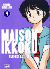 Maison Ikkoku (Perfect Edition) -4- Tome 4