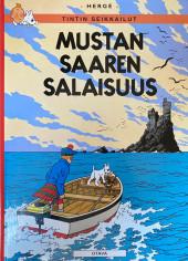 Tintin (en langues étrangères) -7Finlandais- Mustan Saaren Salaisuus (L'Île noire)