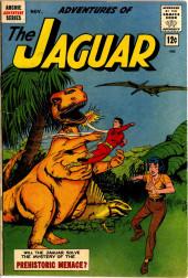 Adventures of the Jaguar (Archie comics - 1961) -10- The Prehistoric Menace