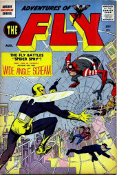 Adventures of the Fly (Archie comics - 1960) -1- The Fly Battles Spider Spry!