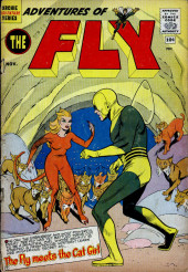 Adventures of the Fly (Archie comics - 1960) -9- The Fly Meets the Cat Girl