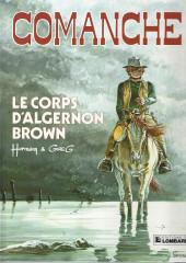 Comanche -10b1989- Le corps d'Algernon Brown