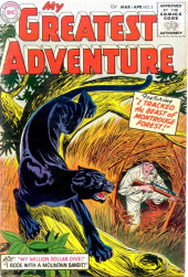 My greatest adventure Vol.1 (DC comics - 1955) -2- I Tracked the Beast of Montrouge Forest!
