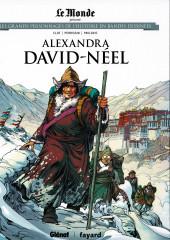 Les grands Personnages de l'Histoire en bandes dessinées -43- Alexandra David-Néel