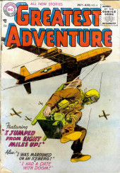 My greatest adventure Vol.1 (DC comics - 1955) -4- I Jumped from Eight Miles Up!