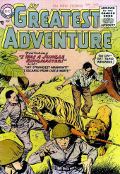My greatest adventure Vol.1 (DC comics - 1955) -5- I Was a Jungle Ringmaster!