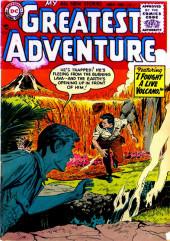 My greatest adventure Vol.1 (DC comics - 1955) -6- I Fought a Live Volcano!