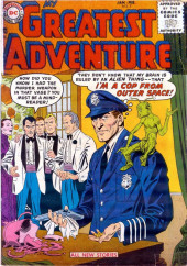 My greatest adventure Vol.1 (DC comics - 1955) -7- I'm a Cop from Outer Space!
