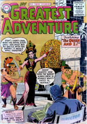 My greatest adventure Vol.1 (DC comics - 1955) -8- The Queen and I!