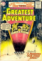 My greatest adventure Vol.1 (DC comics - 1955) -11- I Journeyed into Inner Space!