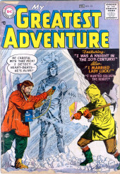 My greatest adventure Vol.1 (DC comics - 1955) -13- I Was a Knight in the 20th Century!