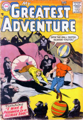 My greatest adventure Vol.1 (DC comics - 1955) -14- I Was a Prisoner in a Human Zoo!