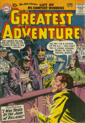 My greatest adventure Vol.1 (DC comics - 1955) -15- I Was Tried by the Jury of Villains!